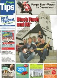 Black Flash und A5+ - Am 15. Mai findet in der Mehrzweckhalle Arbing ein Benefizkonzert der beiden beliebten Bands statt